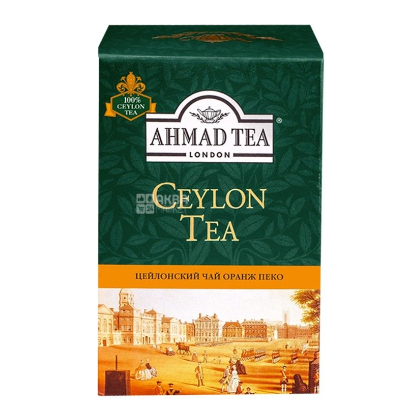 Ahmad, 100 г, чай черный, Orange Pekoe Gold