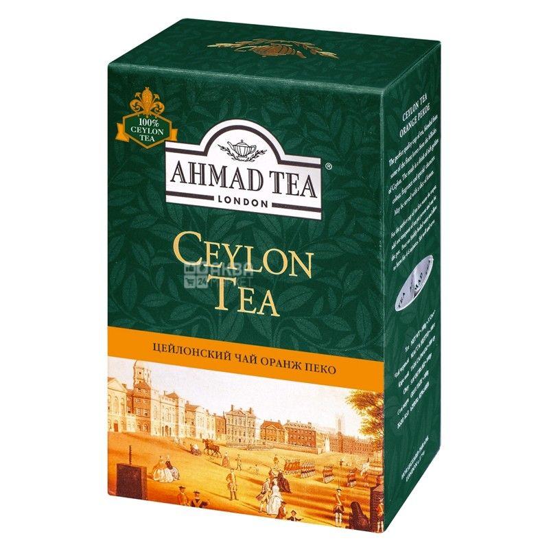 Ahmad Tea Ceylon Orange Pekoe, 100 г, Чай чорний Ахмад Ті Цейлон Оранж Пекое