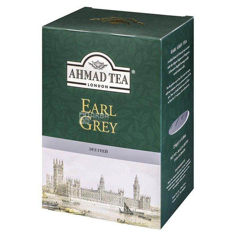 Ahmad Tea Earl Grey, 100 г, Чай чорний Ахмад Ті Ерл Грей