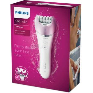 Philips BRE635 / 00 Satenelle Advanced, Epilator, for wet and dry hair removal