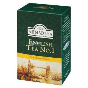 Ahmad English Tea №1, 100 г, Чай черный Ахмад Инглиш Ти с бергамотом