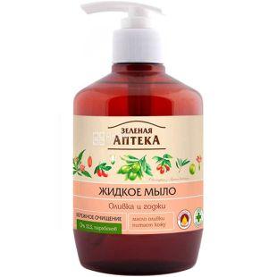 Green Pharmacy, 460 ml, Liquid Soap, Olive and Goji