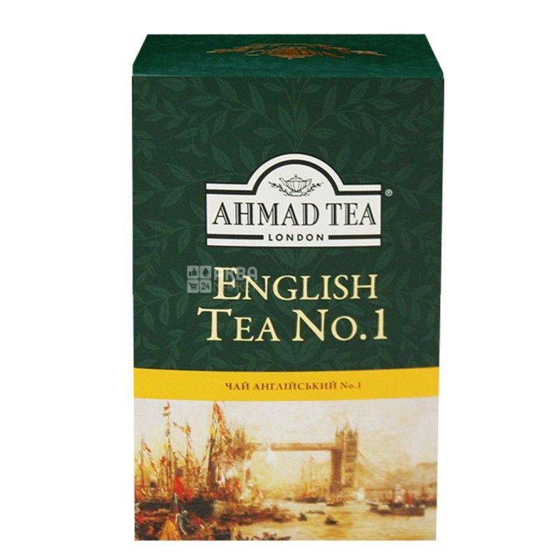 Ahmad English Tea №1, 100 г, Чай чорний Ахмад Інгліш Ті з бергамотом