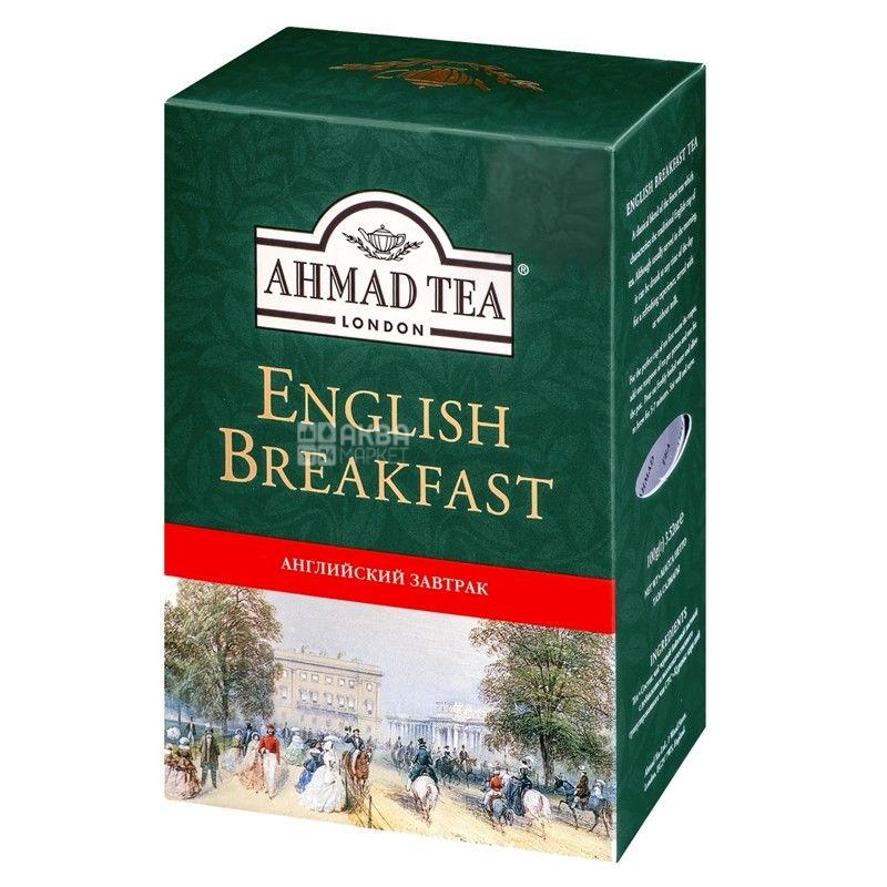 Ahmad Tea English Breakfast, 100 г, Чай чорний Ахмад Ті Інгліш Брекфаст