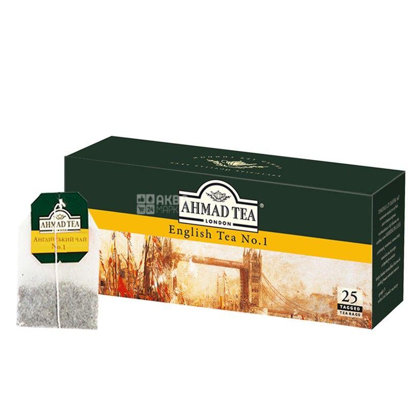 Ahmad English Tea №1, 25 пак, Чай черный Ахмад Инглиш Ти