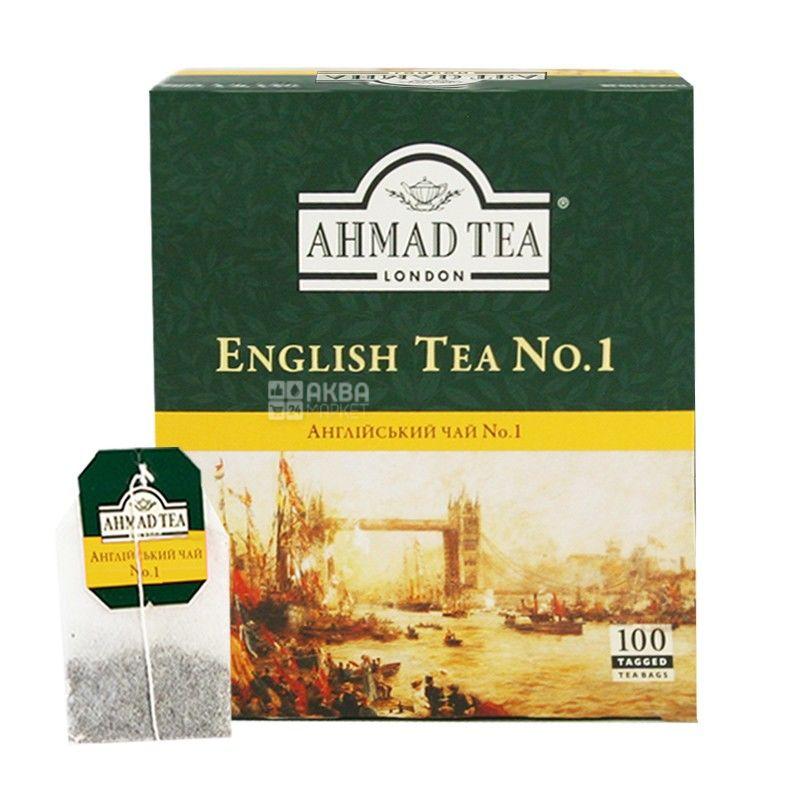 Ahmad, 100 шт., Чай черный, English Tea №1, С бергамотом