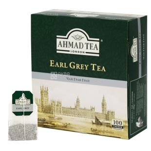Ahmad, 100 pcs, black tea, Earl Gray Tea