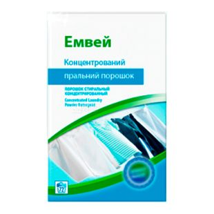 Amway, 3 kg, washing powder, For white and colored linen