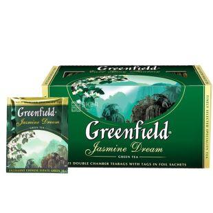 Greenfield, 25 шт., чай зеленый, Jasmine Dream