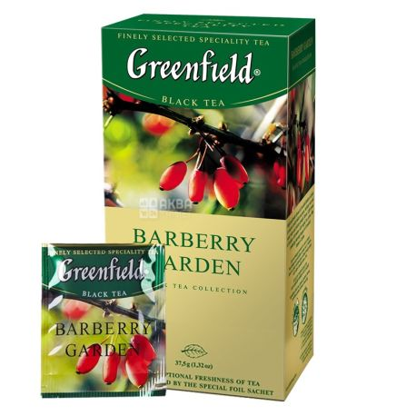 Greenfield 25 pcs., Tea Black, Barberry Garden