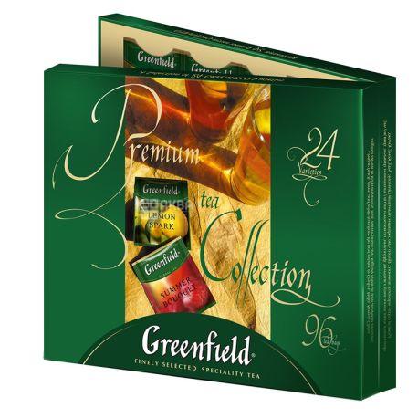 Greenfield,Premium Collection, 96 пак., Чай Гринфилд, Ассорти, подарочный набор