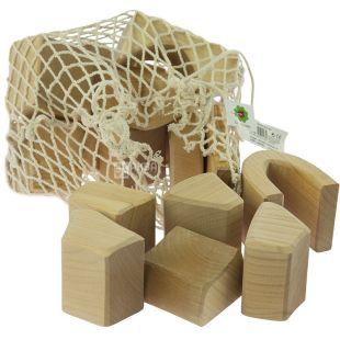 Nic, Конструктор деревянный, большой, 17 деталей, с 1 года