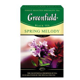 Greenfield, Spring Melody, 100 г, Чай Грінфілд, Спрінг Мелоді, чорний