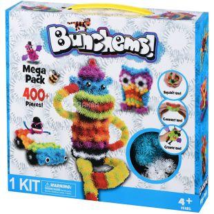 Same Toy Bunchems, Конструктор-липучка, 400 деталей, с 4 лет