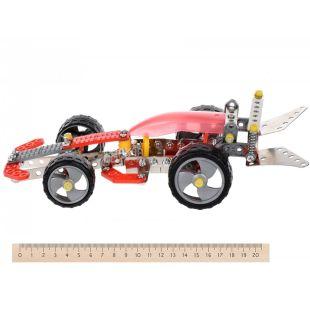 Same Toy Inteligent DIY Model, Конструктор металлический, Болид, 186 деталей, с 8 лет