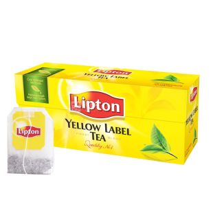 Lipton, Yellow Label, 25 пак., Чай Липтон, Черный