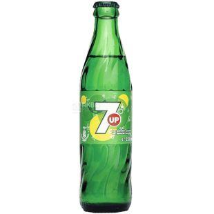 7UP, 0,25 л, Севен ап, Вода сладкая, газированная, стекло