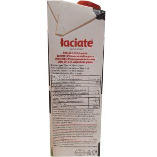 Laciate, 1 л, Лачятэ, Молоко ультрапастеризованное, 3,2%