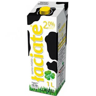 Laciate, 1 л, Лачятэ, Молоко ультрапастеризованное, 2%