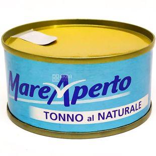 Mare Aperto, 80 г, Тунец в собственном соку