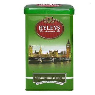 Hyleys English Green Tea, 125 г, Чай зеленый Хэйлис Инглиш Грин Ти, ж/б