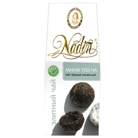 Nadin, 100 г, чай черный, Мини Туо Ча