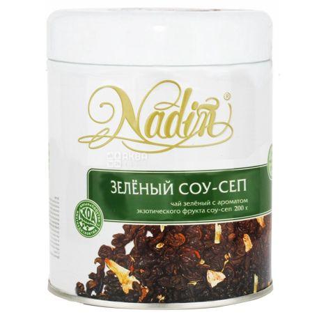 Nadin, Соу-Сеп, 200 г, Чай Надин, зеленый, крупнолистовой