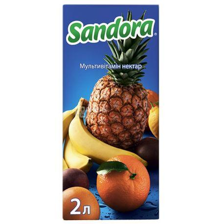 Sandora, Мультивітамін, 2 л, Сандора, Нектар натуральний