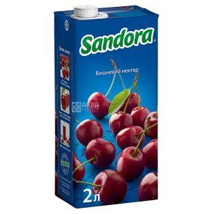 Sandora, 2 л, нектар, Вишневый, м/у