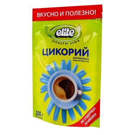 Elite, Цикорій, 100 г, Еліт, напій розчинний, без кофеїну