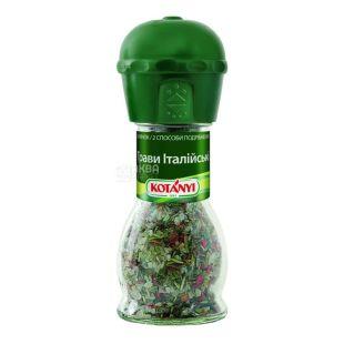 Kotanyi, 48 g, seasoning, Italian herbs, glass
