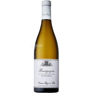 Simon Bize et Fils, Bourgogne Blanc Les Perrieres, 0,75 л, Вино біле сухе