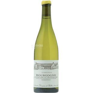 Domaine de Bellene, Bourgogne Chardonnay Clos de la Chapelle, 0,75 л, Вино біле сухе