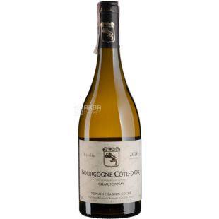 Domaine Fabien Coche, Bourgogne Chardonnay, 0,75 л, Вино біле сухе