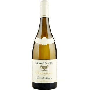 Patrick Javillier, Bourgogne Cuvee des Forgets, 0,75 л, Вино біле сухе