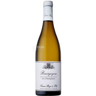 Simon Bize et Fils, Bourgogne Les Champlains, 0,75 л, Вино біле сухе