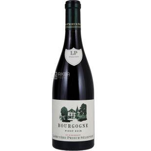 Labruyere-Prieur Selection, Bourgogne Pinot Noir, 0,75 л, Вино червоне сухе