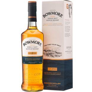 Bowmore Legend, 0,7 л, Віскі односолодовий, подарункова упаковка