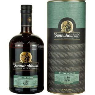Bunnahabhain Stiuireadair, 0,7 л, Віскі односолодовий, подарункова упаковка