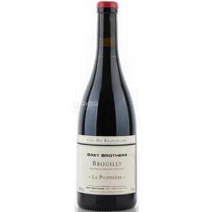 Bret Brothers, Brouilly La Piloniere, 0,75 л, Вино червоне сухе