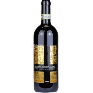 Pieve Santa Restituta, Brunello di Montalcino, 0,375 л, Вино червоне сухе
