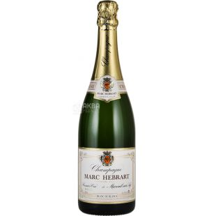 Marc Hebrart, Brut Blanc de Blancs Premier Cru, 0,75 л, Вино біле ігристе, брют