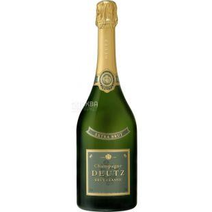 Deutz, Extra Brut Classic, 0,75 л, Вино біле ігристе, брют