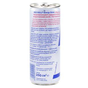 Red Bull 0,25л, энергетический напиток, ж/б
