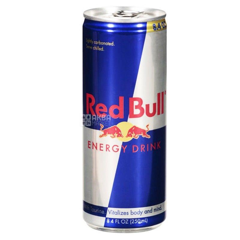 Red Bull, 0,25 л, Напиток энергетический Ред Булл