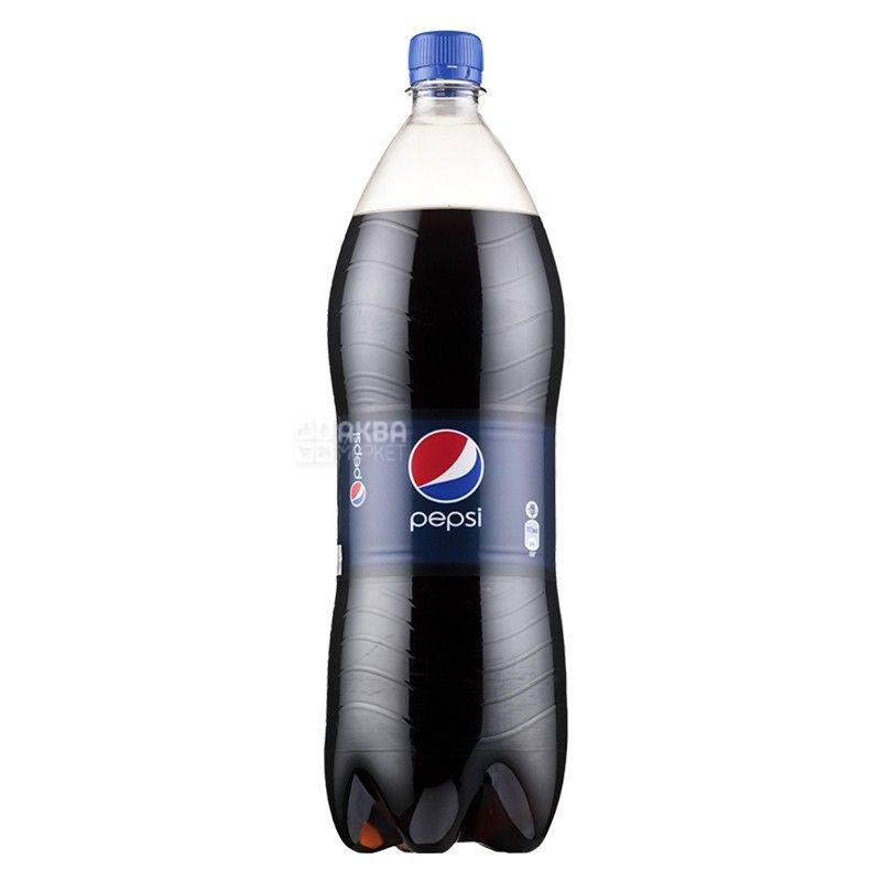 Pepsi-Cola, 2 л, Пепсі-Кола, Класична, Вода солодка, ПЕТ