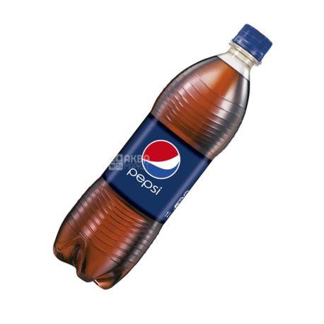 Pepsi-Cola, 1 л, Пепсі-Кола, Класична, Вода солодка, ПЕТ