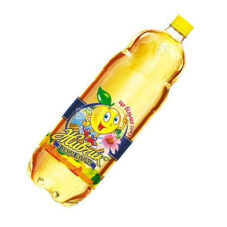 Живчик, Яблуко, 2 л, Напій соковий, сильногазований, з екстрактом ехінацеї, ПЕТ