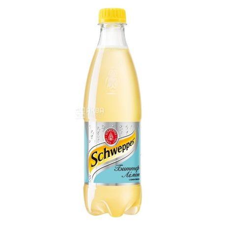 Schweppes, 0,5 л, Солодка вода, Bitter Lemon, ПЕТ