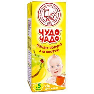Chudo-Chado, 200 ml, juice, Banan-Apple, m / y